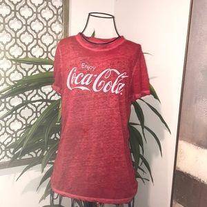Enjoy Coca Cola Thin T Shirt